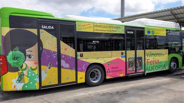 Córdoba.- Aucorsa pone en servicio este jueves 18 nuevos autobuses híbridos propulsados por gas natural