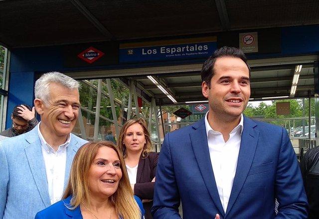 26M.- Aguado Apuesta Por Extender La Línea 3 De Metro Hasta La Estación De Metrosur De Los Espartales En Getafe