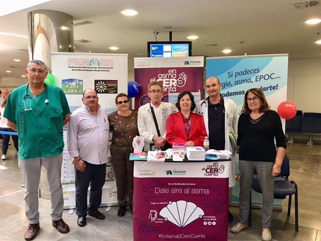 Málaga.- Pacientes con asma bronquial grave mejoran su calidad de vida en una consulta específica en el Hospital Clínico