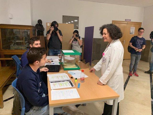 """Granada.- Aranda se compromete a """"consolidar"""" logros y """"rectificar"""" en lo necesario en su nuevo mandato como rectora"""