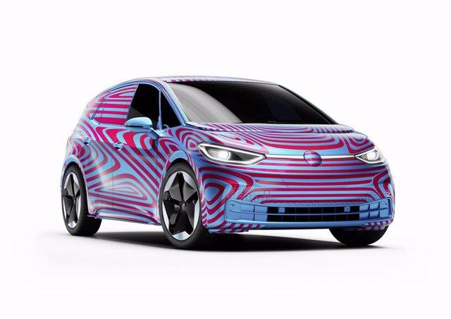 Economía/Motor.- Volkswagen prevé vender más de 100.000 unidades al año de su nuevo eléctrico ID.3