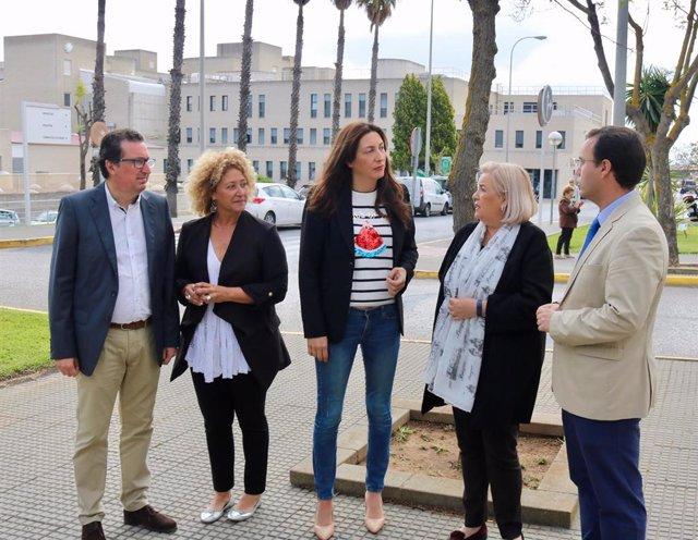 Huelva.- Loles López aplaude que la Junta recupere para Huelva una técnica para pacientes cardíacos eliminada en 2016