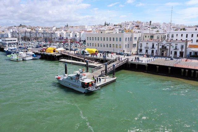 Huelva.- La Armada Española coordina en Ayamonte el ejercicio de seguridad marítima Marsec-19 en el río Guadiana