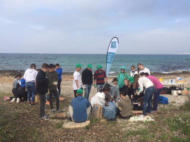 Més de 2.000 voluntaris participen al mig centenar de batudes per netejar les costes de Palma