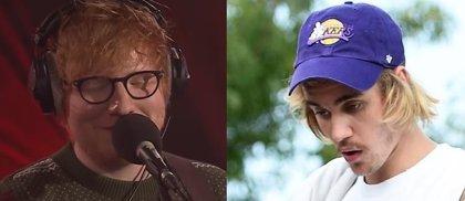 Justin Bieber comparte un avance de su nueva colaboración con Ed Sheeran