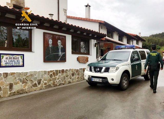 Detenidos dos hombres por robar a peregrinos cuando dormían en el albergue de Güemes