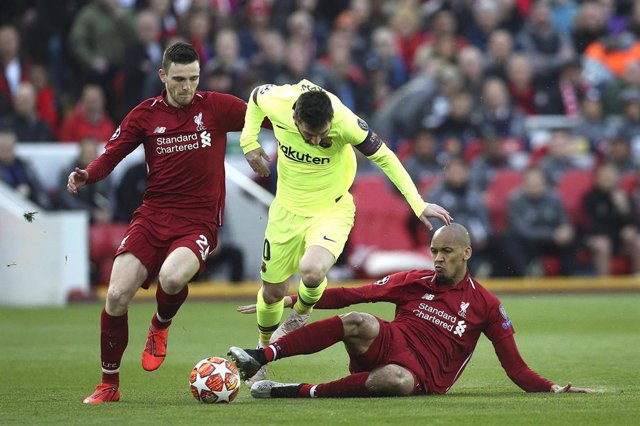 FOOTBALL - UEFA CHAMPIONS LEAGUE - 1/2 FINAL - LIVERPOOL v FC BARCELONA