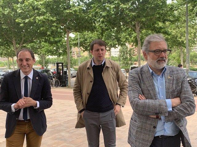 """26M.- Javi López (PSC) Qualifica De """"Vergonya"""" Que La Generalitat No Baixi Les Taxes Universitàries"""