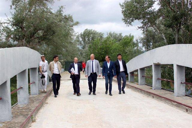 CórdobaÚnica.- Diputación interviene en obras de conservación y mantenimiento del Puente de los Remedios de Villafranca