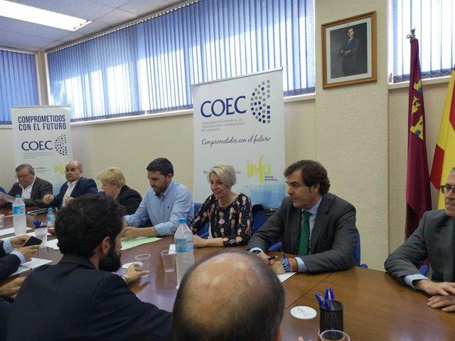 COEC reclama acciones concretas que compatibilicen el turismo y la agricultura con la sostenibilidad del Mar Menor