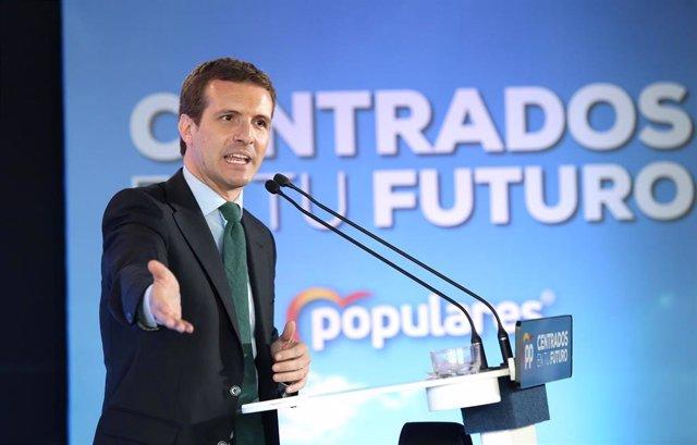 """España.- Casado admite que le preocupa que Iceta presida el Senado: habló de """"consulta de independencia en 10 años"""""""