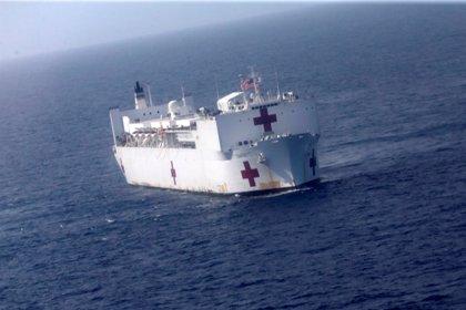 EEUU anuncia el despliegue de un buque militar medicalizado para atender a los migrantes venezolanos