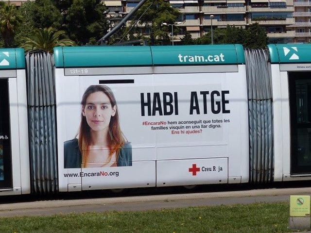 Tram aporta 10.000 euros a la campanya de Creu Vermella per conscienciar contra la pobresa crònica