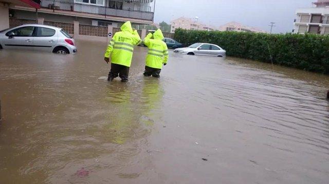 El Consell inicia las actuaciones para paliar los daños producidos por las últimas lluvias en la Comunitat