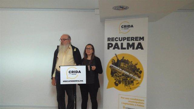 """26M.- Crida Per Palma Plantea Como Ejes El """"Municipalismo Y Rupturismo"""" Para """"Dar Un Giro De 180 Grados"""" A La Ciudad"""