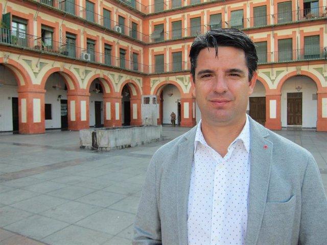 """Córdoba.- 26M.- Pedro García subraya que IU """"no es un experimento"""" y ofrece """"solidez y solvencia"""" en la gestión"""