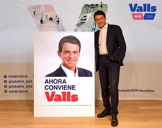 26M.- Valls Cercarà Guanyar L'Alcaldia De Barcelona Amb El Lema 'Ara Convé Valls'