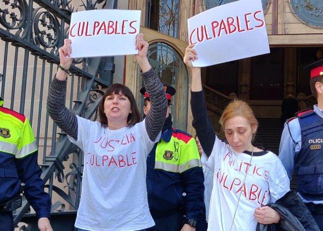 """AMP.- La primera víctima del 'violador de Martorell' (Barcelona) critica la """"justícia patriarcal"""" davant del TSJC"""