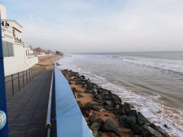 """Huelva.- Propietarios de Matalascañas dicen que el plan del Ministerio """"solo"""" resolvería un 28% del déficit de arena"""