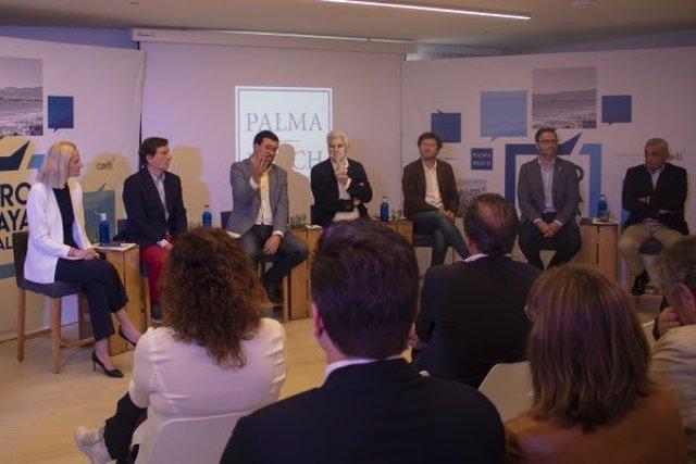 26M.- Los Candidatos A Alcalde De Palma Se Comprometen A Invertir Esfuerzos En Playa De Palma