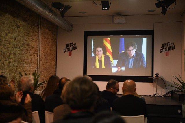 26M.- Un jutjat de Madrid dictamina que Puigdemont pot concórrer a les eleccions europees