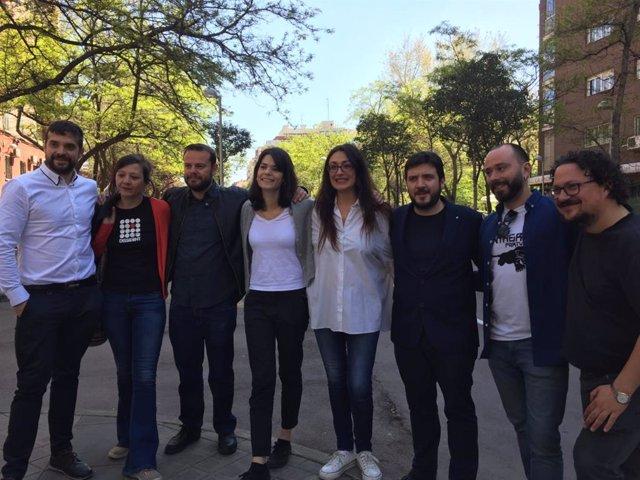 26M.- Sol Sánchez será la número 2 de la lista de Unidas Podemos, Vanessa Lillo la 6 y Raúl Camargo el 11