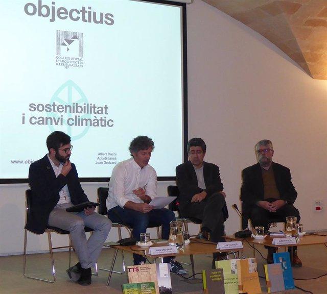 El Colegio de Arquitectos de Baleares concluye este viernes su ciclo 'Objetivos' con un debate
