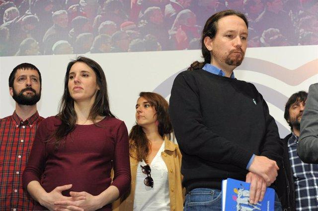 Elecciones generales 28A 2019. Seguimiento de resultados de Unidas Podemos en el Teatro Goya