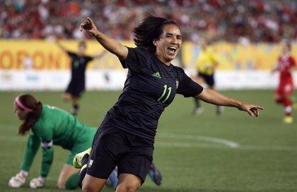 La futbolista mexicana Mónica Ocampo consigue el mejor gol de la historia de los mundiales femeninos de la FIFA