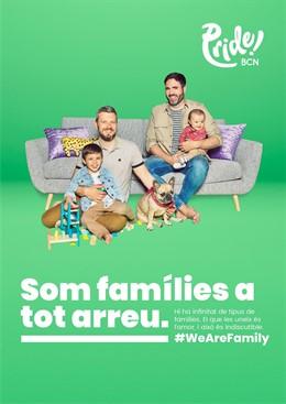 Pride! Barcelona dará visibilidad a la diversidad familiar y reivindicará la igualdad
