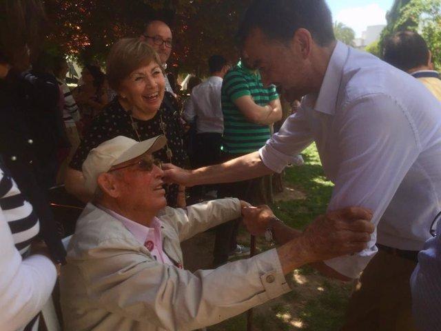 """26M.- Maíllo pide ampliar la red de ayuntamientos que """"gobiernan para mejorar la vida de la gente"""""""