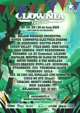 El festival Clownia anuncia Joan Dausà, Judit Neddermann i Elèctrica Dharma
