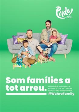 Pride! Barcelona donarà visibilitat a la diversitat familiar i reivindicarà la igualtat