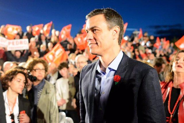 Acto de cierre de campaña del PSOE en Valencia