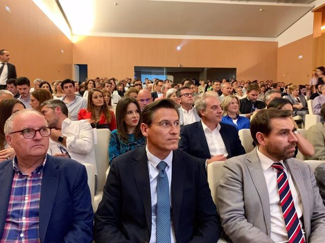 """Granada.- 26M.- Luis Salvador (Cs) defiende su programa """"inteligente"""" para """"transformar Granada en una economía pujante"""""""
