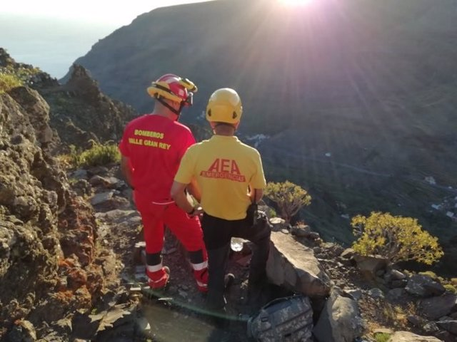 Sucesos.- Buscan a un senderista desparecido en Valle Gran Rey (La Gomera)