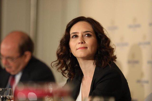 26M.- Díaz Ayuso reta a Aguado a decir si apoyará un Gobierno encabezado por ella aunque solo saque un escaño más