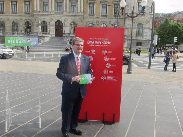 """26M.- Aburto Ofrece 10 Compromisos A La Ciudadanía Para Hacer De Bilbao """"Una Ciudad De Diez"""""""