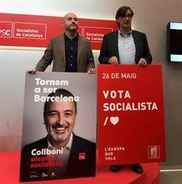 26M.- La Campaña Del PSC Contará Con Dos Visitas De Sánchez Y Siete Ministros
