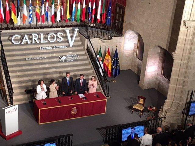 """AV.- Felipe VI apuesta por seguir trabajando por """"una verdadera Europa de y para los ciudadanos"""" como """"faro"""" de """"paz"""""""