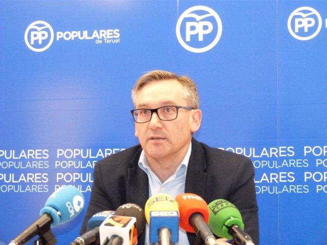 """Juste (PP) dice que su partido ha puesto en marcha """"todas"""" las propuestas para extender la banda ancha en Teruel"""
