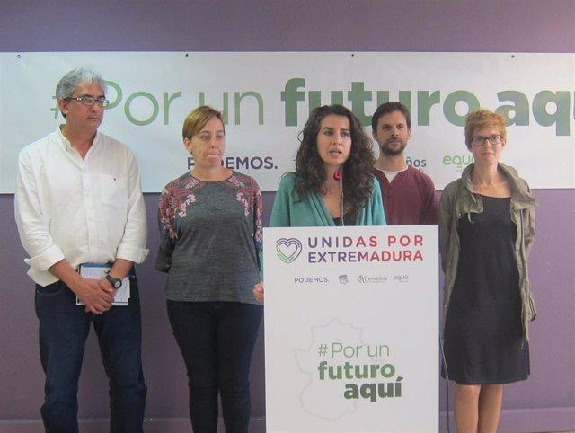 AV.- Unidas por Extremadura