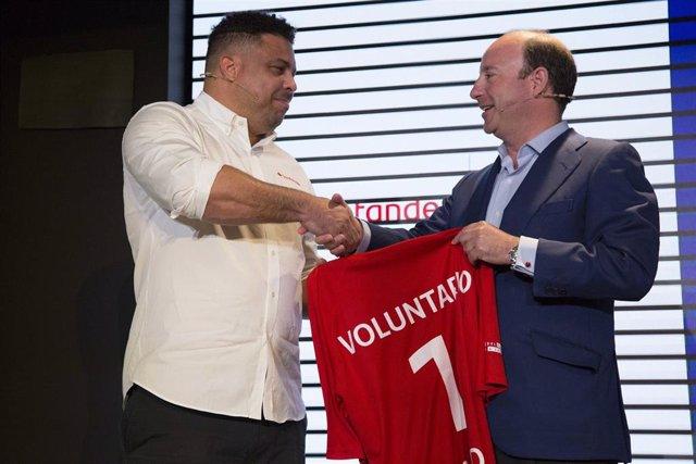 """Fútbol.- Ronaldo: """"Es muy injusto apuntar culpables, Valverde es increíble y el Barcelona ha hecho un año espectacular"""""""