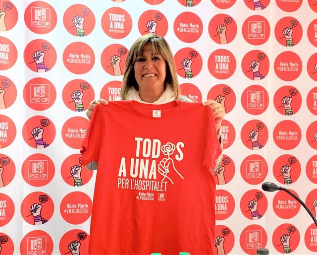 26M.- Marín (PSC) Aspira A La Reelección En L'hospitalet Con El Lema 'Todos A Una'