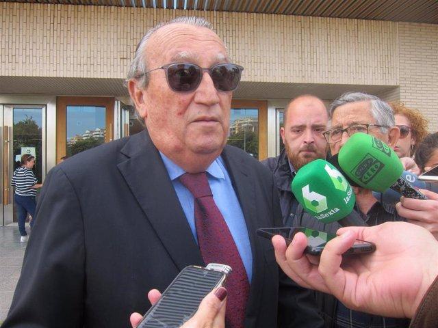 """Castellón.- Fabra: """"Jamás he estado en VOX y he votado toda mi vida al PP y ahora no voy a cambiar de domicilio"""""""