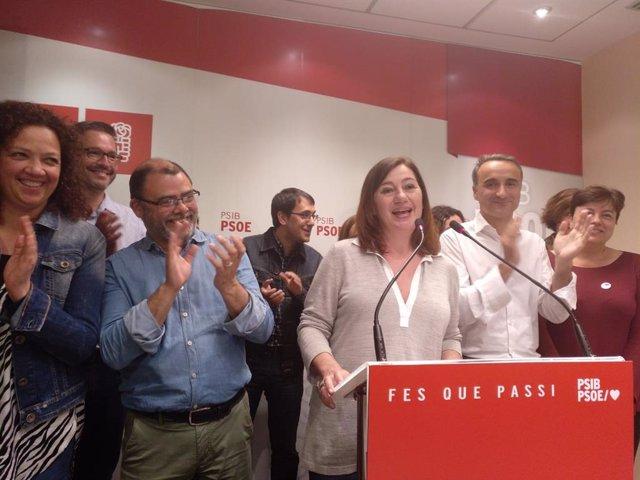 28A.- El PSOE se sitúa como la fuerza más votada en Baleares y el PP cae hasta la cuarta posición, con el 100% escrutado