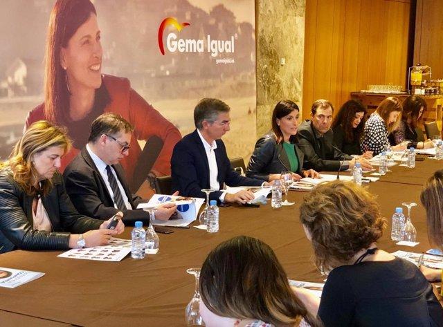 """26M.- Gema Igual Presenta Un Programa Con 306 Medidas Para """"Ganar Las Elecciones Y Revalidar La Alcaldía"""" De Santander"""