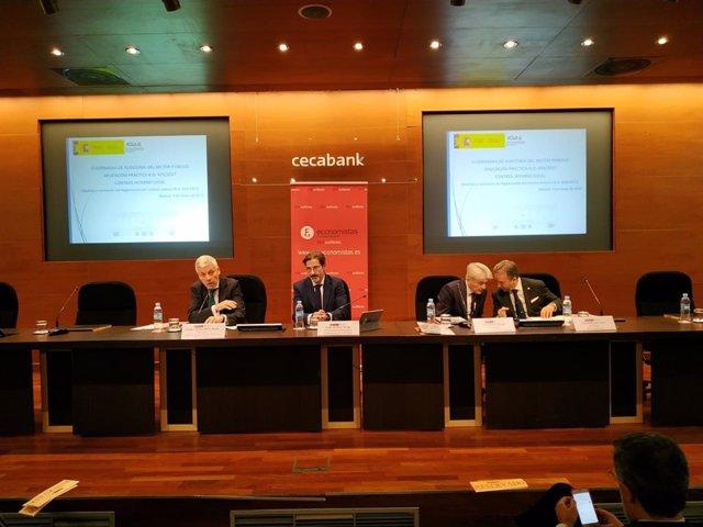 Economía.- Los economistas auditores reivindican más protagonismo del sector privado en el control de cuentas públicas