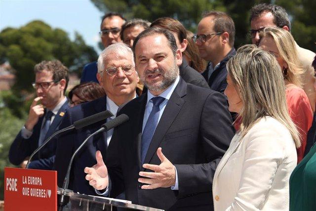 Presentación de la candidatura del PSOE a las elecciones europeas en Toledo