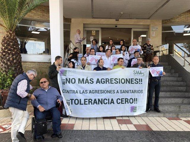 Andalucía.- El SMM se concentra contra las agresiones a los profesionales sanitarios y pide medidas